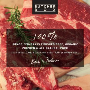 Butcher Box - Back to Nature