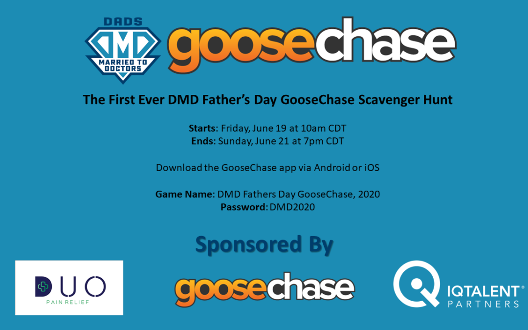 DMD Fathers Day GooseChase 2020