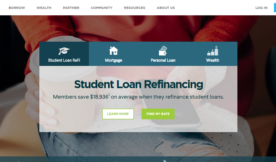 SoFi – Student Loan Consolidation