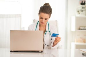 credit card, physician wealth services